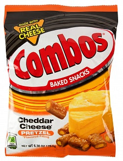 Combos Cheddar Cheese Pretzel (6.3oz Large Bag)