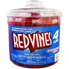 Red Vines Original Red Twists (Huge 4lb Tub)