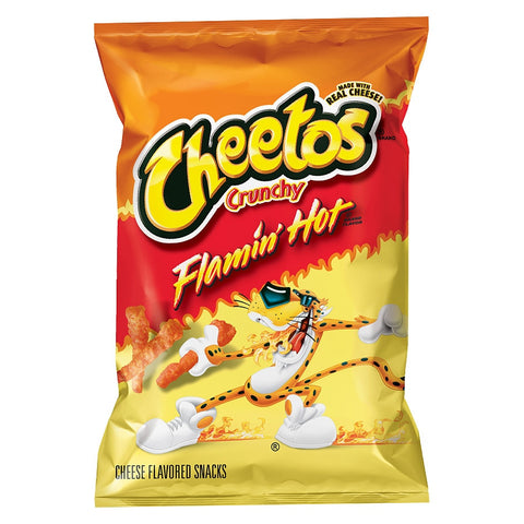 Frito-Lay Cheetos Crunchy Flamin' Hot (Original USA Import) 3.5oz