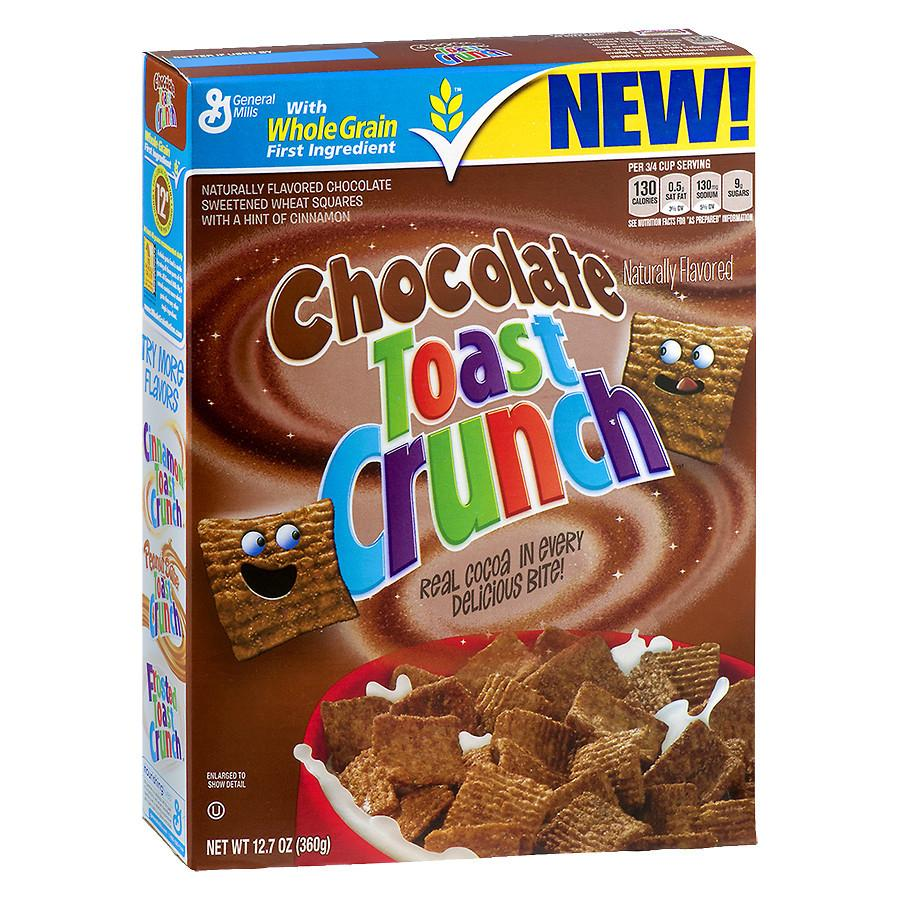 Chocolate Cinnamon Toast Crunch Cereal (12.4oz) - A Taste of the States