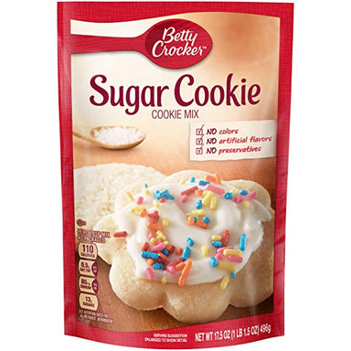 Betty Crocker Sugar Cookie Mix (17.5oz) - A Taste of the States