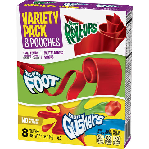 Betty Crocker Fruit Snack Variety Pack (8 pouches)