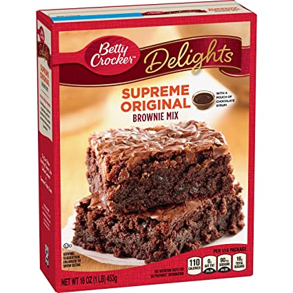 Betty Crocker™ Supreme Original Brownie Mix (453g)