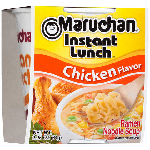 Maruchan Instant Lunch - Chicken Ramen Noodles (2.25oz) - A Taste of the States