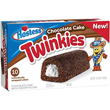 Hostess Chocolate Cake Twinkies (Box of 10) - A Taste of the States