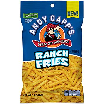 Andy Capp's Ranch Fries (3oz) 85g - A Taste of the States