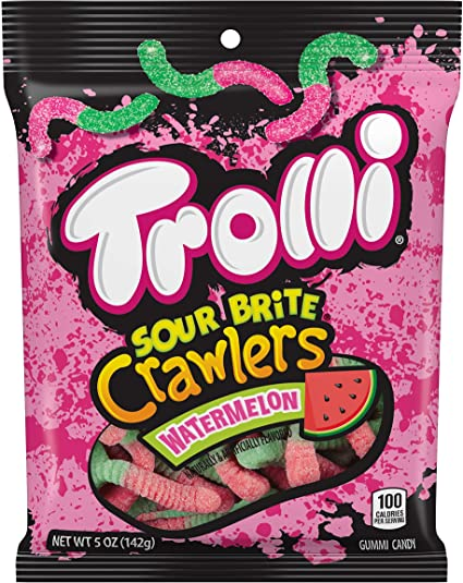 Trolli Watermelon Sour Brite Crawlers (5oz)