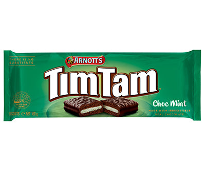 Arnott's Tim Tam Choc Mint (160g) - A Taste of the States