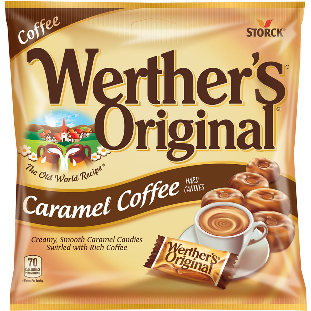 Werther's Original Caramel Coffee Hard Candy (2.65oz) - A Taste of the States