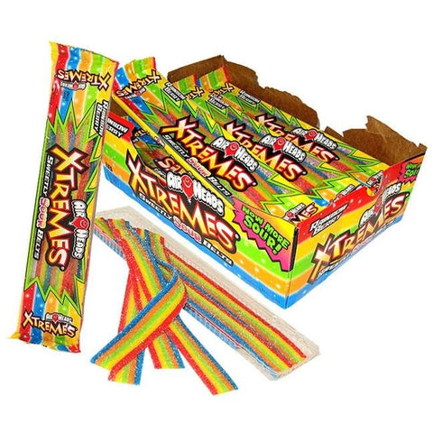 Airheads Xtreme Rainbow Sour Belts 2oz (57g) - A Taste of the States