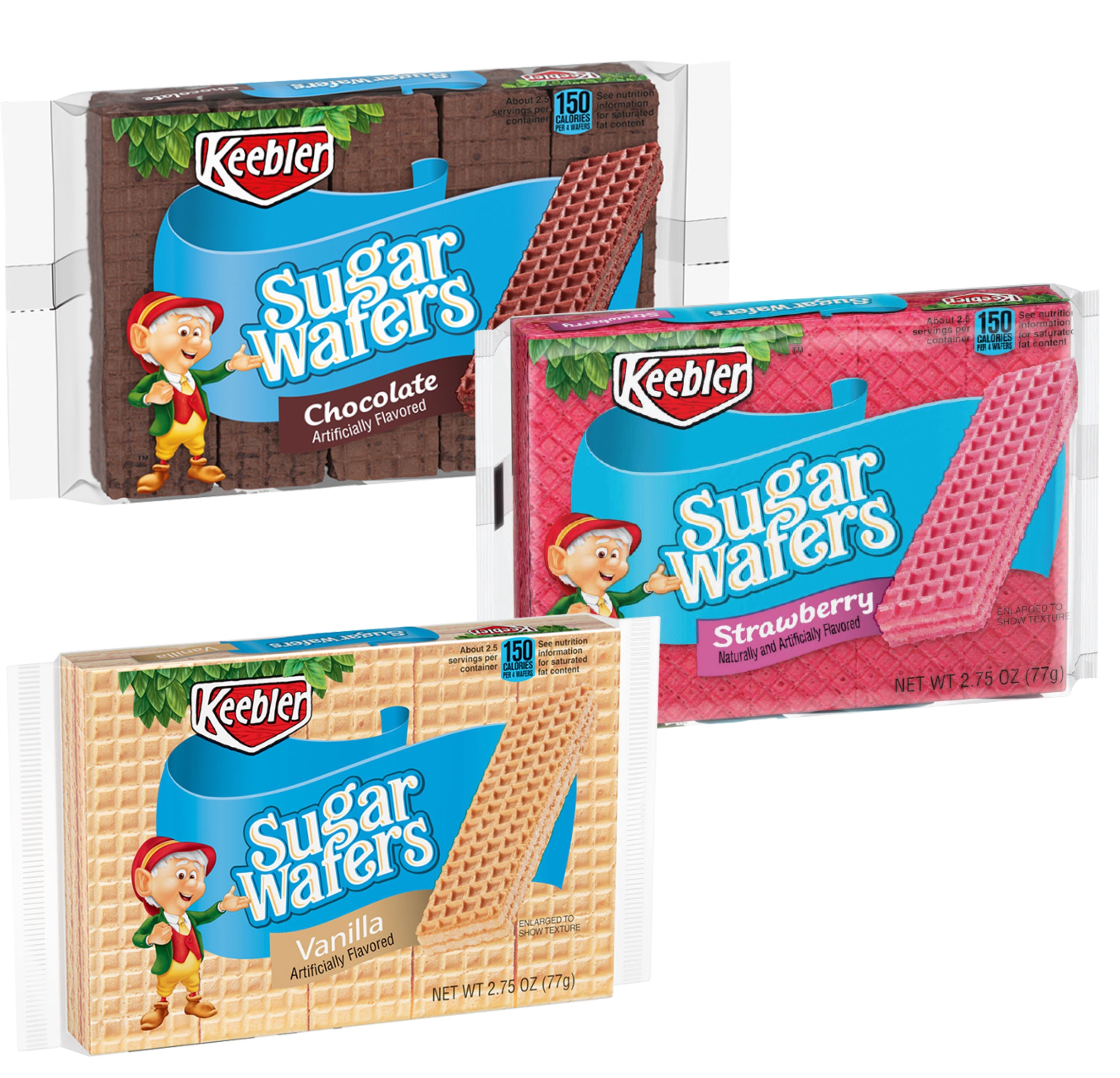 Keebler Sugar Wafers: Variety Mix (3 flavours!)