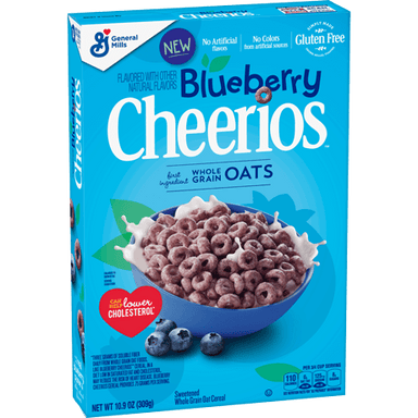 Cheerios Blueberry Cereal (309g) - A Taste of the States