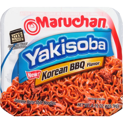 Maruchan Yakisoba Noodles | Korean BBQ (4.12oz) - A Taste of the States