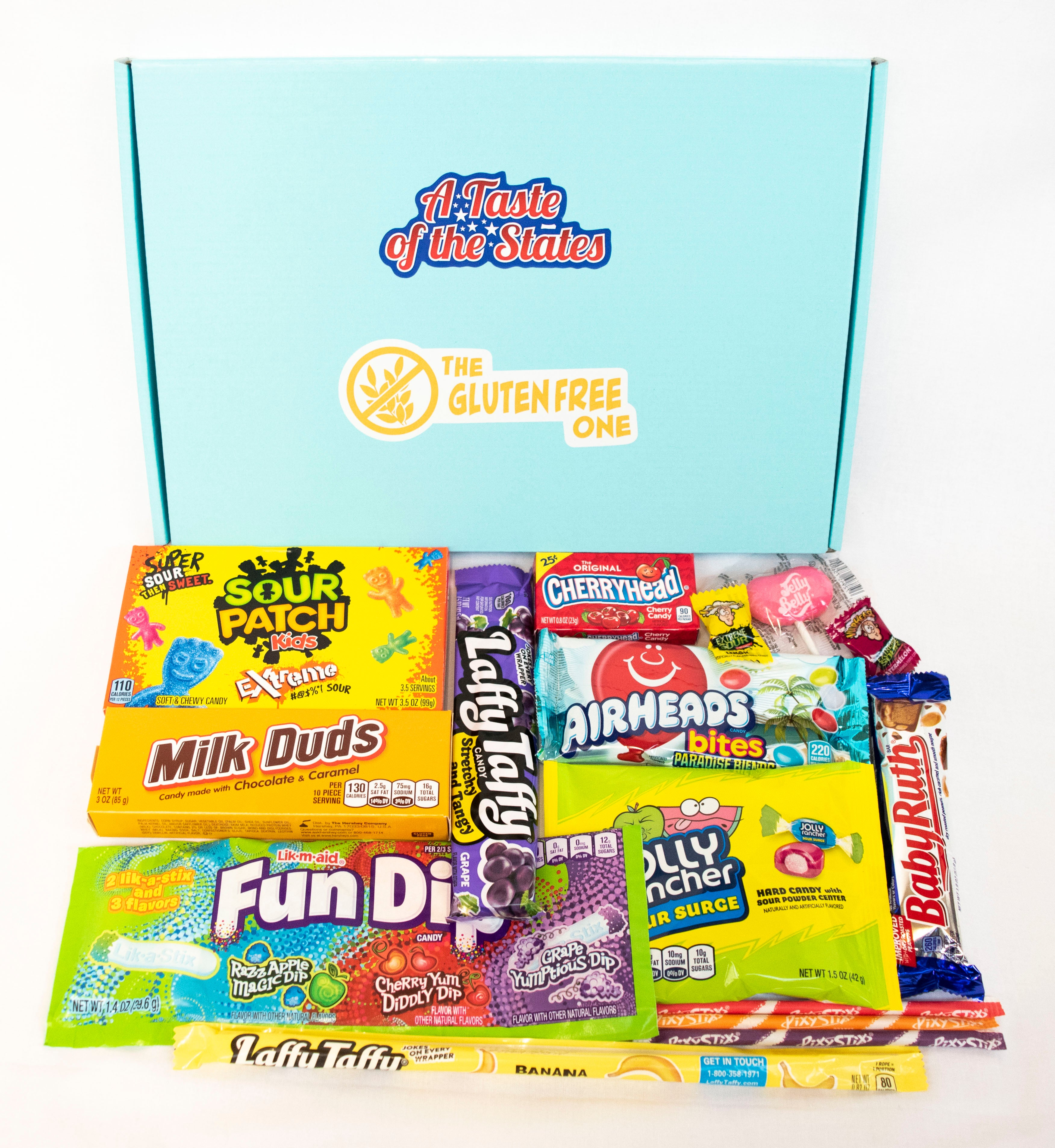 The Gluten-Free One© GF Candy Letterbox Gift Hamper