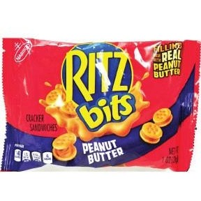 Ritz Bitz Peanut Butter (1oz) - A Taste of the States