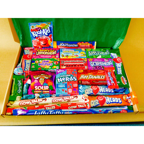 Large American Candy Hamper Gift Box A Taste Of The States