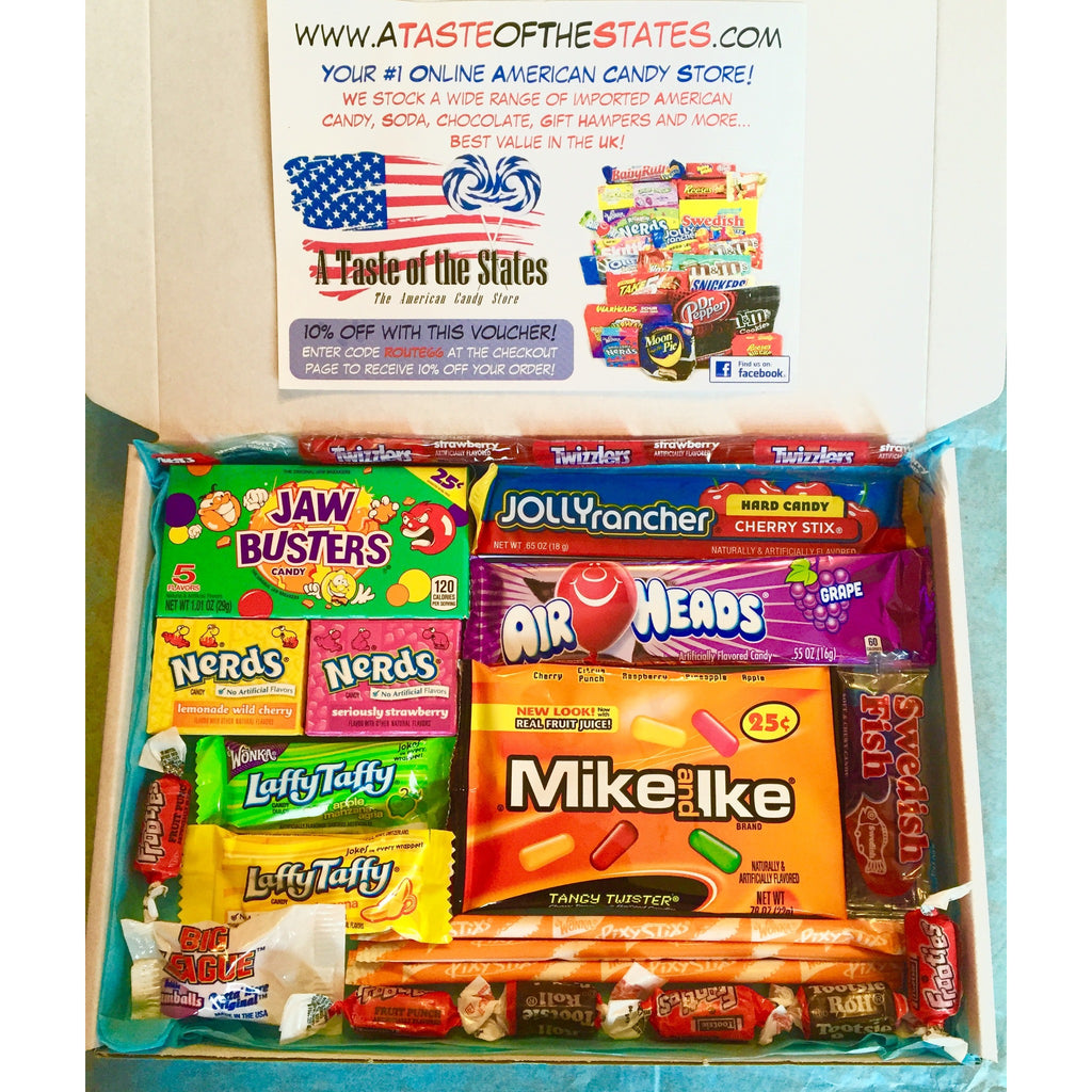Mini American Candy Box A Taste Of The States