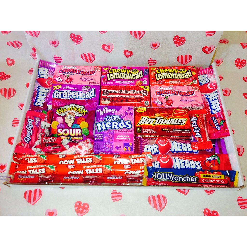 """Big Love"" American Candy Valentine Hamper - A Taste of the States"