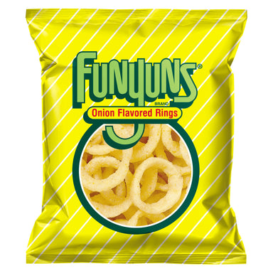Frito-Lay Funyuns Onion Rings (0.75oz) 21g - A Taste of the States