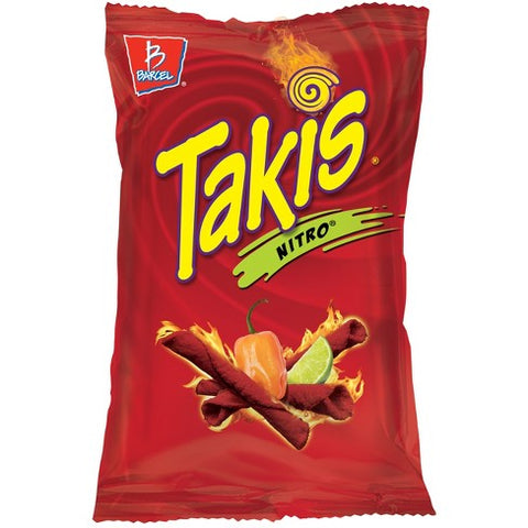 Takis Nitro (Habanero & Lime Tortilla Chips) XL 9.9oz Bag