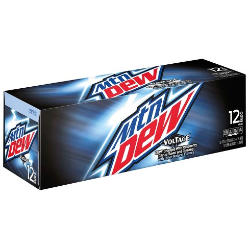 Mountain Dew Voltage Fridgepack (12 cans) - A Taste of the States