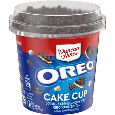 Duncan Hines Perfect Size for 1: Oreo Cookies & Creme Cake Mix (2.4oz) - A Taste of the States