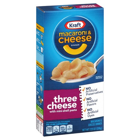 Kraft Macaroni Three Cheese Dinner (US Version) 206g - A Taste of the States