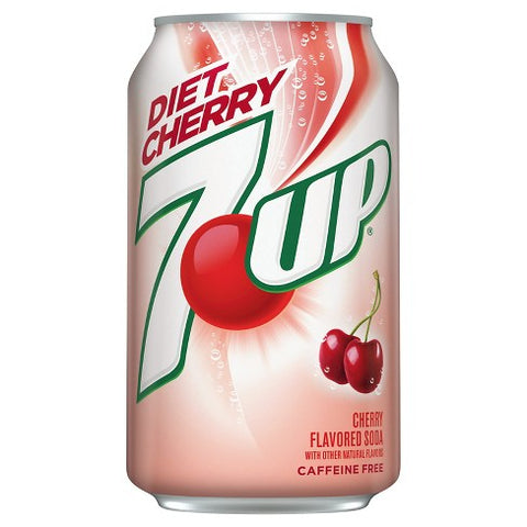 7up Cherry Diet (12fl.oz) - A Taste of the States