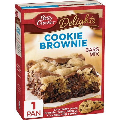 Betty Crocker  Cookie Brownie Bars (493g)