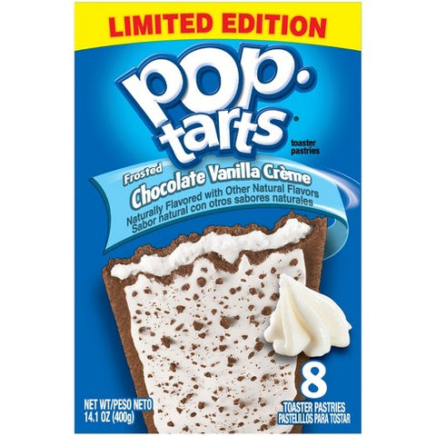 Kellogg's Pop Tarts Frosted Chocolate Vanilla Créme (8 pack)