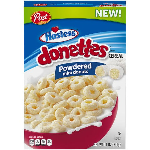 Post Hostess Donettes Cereal (11oz) - A Taste of the States