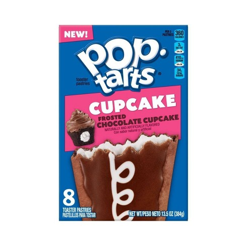 Kellogg's Pop Tarts Frosted Chocolate Cupcake (8 pack) - A Taste of the States