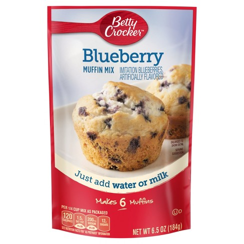 Betty Crocker Blueberry Muffin Mix (184g) - A Taste of the States