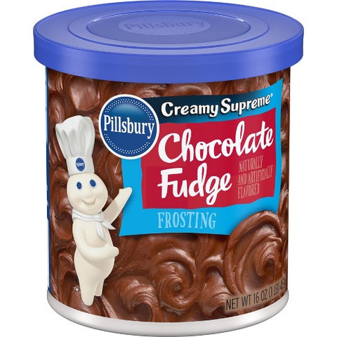 Pillsbury Creamy Supreme® Chocolate Fudge Frosting (453g)