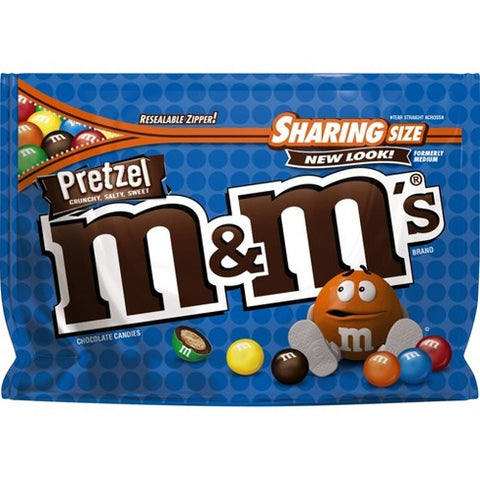 M&M's Pretzel XL Sharing Pouch (227g) 8oz