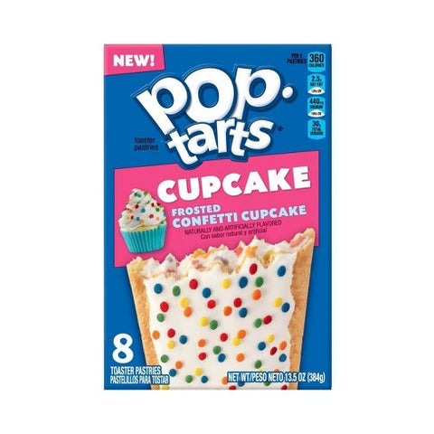 Kellogg's Pop Tarts Confetti Cupcake (8 pack) - A Taste of the States