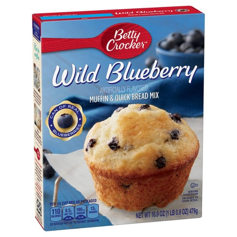 Betty Crocker Wild Blueberry Muffin & Quick Bread Mix (479g)