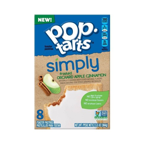 Kellogg's Pop Tarts Simply Frosted Orchard Apple Cinnamon (8 pack) - A Taste of the States