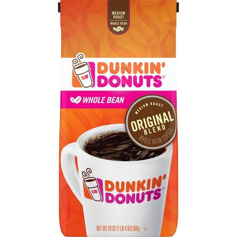 Dunkin' Donuts Original Blend Whole Bean Coffee (12oz)