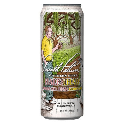 Arizona Arnold Palmer Sweet Tea Pink Lemonade (XL 23oz Can) - A Taste of the States