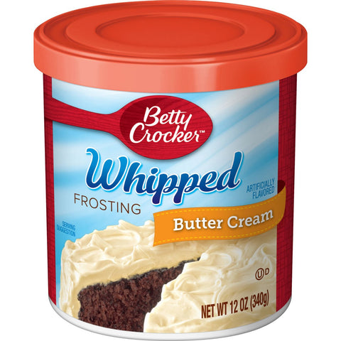 Betty Crocker Whipped Butter Cream Frosting (340g) - A Taste of the States