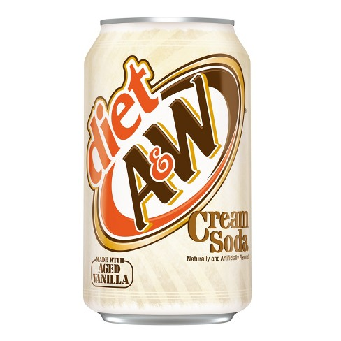A&W Diet Cream Soda (12fl.oz) - A Taste of the States
