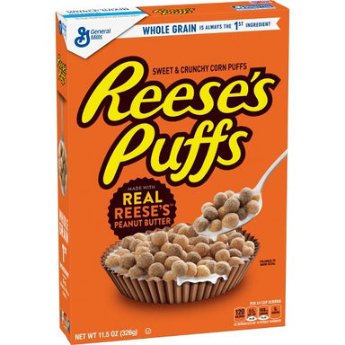 Reese's Puffs Cereal (326g) - A Taste of the States