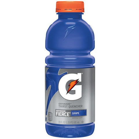 Gatorade Fierce Grape 20oz (591ml) - A Taste of the States