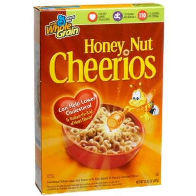 Cheerios Honey Nut Cereal (10.8oz) - A Taste of the States