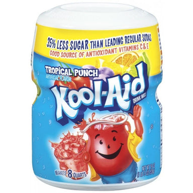 KOOL-AID Tropical Punch Tub (19oz) 538g - A Taste of the States