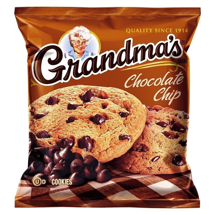 Frito-Lay Grandma's Cookies Chocolate Chip 2.5oz - A Taste of the States