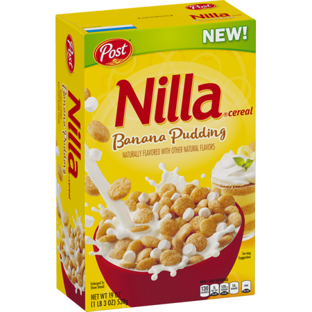 Post Nilla Banana Pudding Cereal (12oz) - A Taste of the States