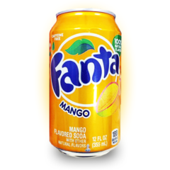 Fanta Mango (12fl.oz) - A Taste of the States