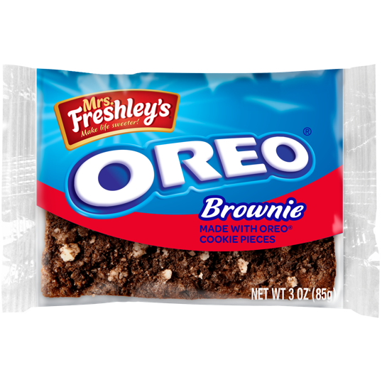 Mrs. Freshley's Oreo Brownie (3oz) - A Taste of the States